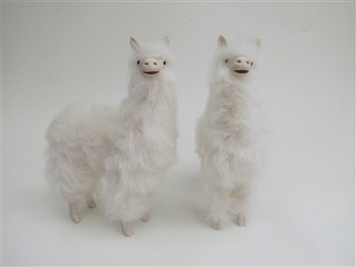 Colin's Creatures Life Like Doll House Scale Alpaca