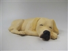 Colin's Creatures Handmade Stoneware Yellow Labrador Retriever Cremation Urn