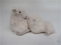 Colin's Creatures Handmade sheep figurines, Galway Ewe - You're the Best
